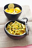 Pork curry with yellow vegetables