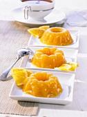 Orange tea jelly