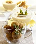 Sauerkraut soup with calf's liver balls