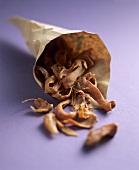 Mace in paper bag