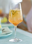 Aperol with passion fruit