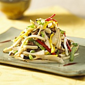 Korean beef and vegetable stir-fry