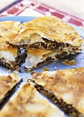 Moroccan minced meat pie