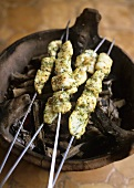 Grilled fish kebabs (Morocco)