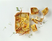 French onion quiche