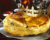 Galette des Rois (Three Kings' cake for Epiphany, France)