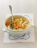 Chicken noodle soup (to prevent colds)