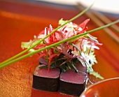 Nori-wrapped tuna