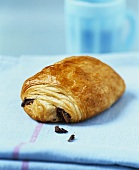 Pain au chocolat (French chocolate-filled pastry)