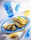 Crêpe with nut filling (for children)
