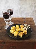 Spanish tortilla appetisers
