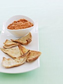 Tomato and pepper dip