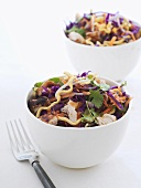 Asian chicken and vegetable salad