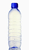 A plastic bottle of mineral water