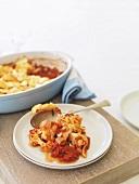 Cauliflower and tomato bake