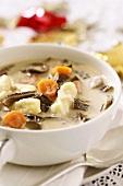 Mushroom soup for Christmas