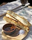 Schiacciata al rosmarino (Rosemary flatbread, Italy)