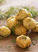 Potato croquettes with dill