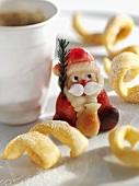 Leipziger Ringelschwänzchen & marzipan Father Christmas