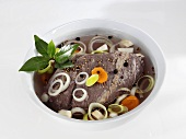 Marinated Sauerbraten (German beef dish)