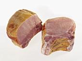 Kasseler (cured pork loin), cooked