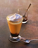 Espresso with vanilla cream, advocaat and cream