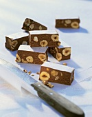Torrone (Chocolate nut sweet, Italy)
