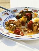 Spezzatino di maiale (Pork ragout, Italy)