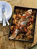 Pesce al forno (Baked fish, Italy)