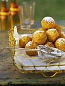 Frittelle di riso (Deep-fried rice balls, Italy)