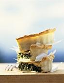 Torta d'erbe (herb pie), Tuscany, Italy