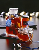 Christmas gifts: quince jelly and figs in Calvados