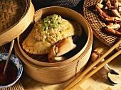 Crab stuffed with pork (Vietnam)