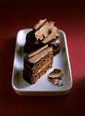 Elegant chocolate cakes