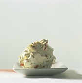Soft cheese with caraway seeds