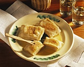 Filled Thuringian dumplings