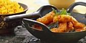 Prawn curry (India)