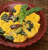 Dhal with spinach (India)