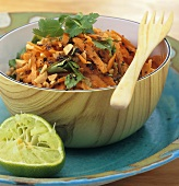 Raw carrot and peanut salad (India)