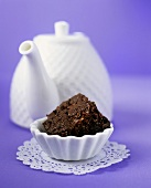 Fudge chocolate brownie