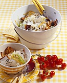 Glass noodle salad with marinated oilfish