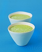 Yoghurt herb soup