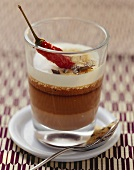 Chocolate cream with chilli and cinnamon