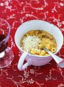 Pasta e fagioli (Pasta and beans, Italy)