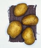 Potatoes, variety: Princess