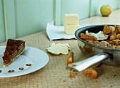 Apple and ginger tart