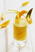 Orangen-Aloe-Drink