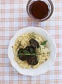 Sauerkraut with black pudding