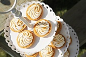Tartlets with a meringue topping