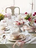 Festive Easter Dinner Table